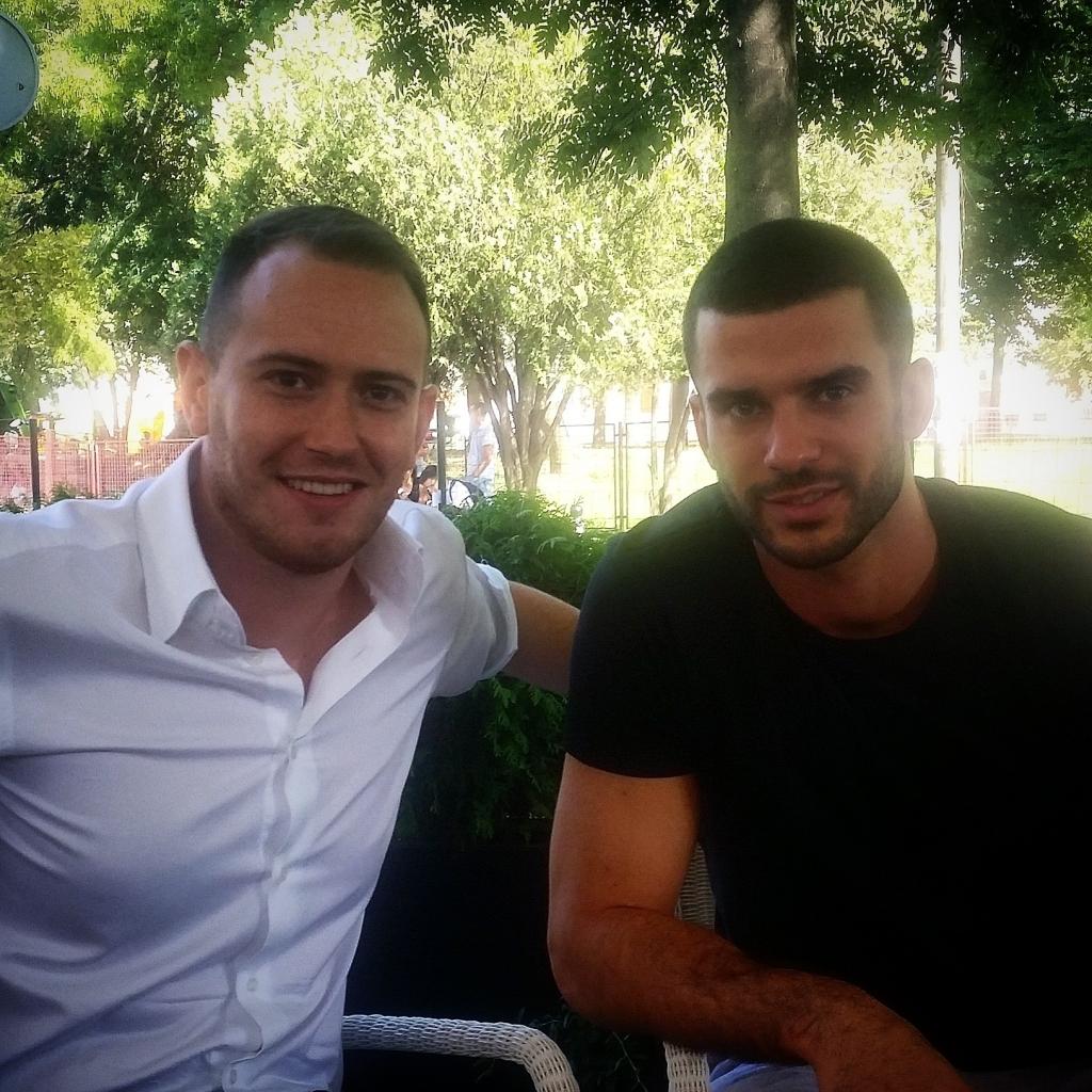 Marko Jovašević i Branko Lazić